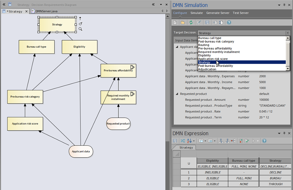 dmnのシミュレーション enterprise architect 14 0 14 1 日本語版 ヘルプ